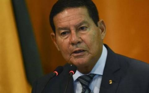 """Discurso ambiental é um """"ingrediente na guerra comercial"""", diz Mourão"""