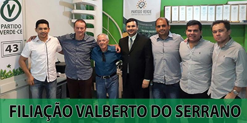 Filiação Valberto do Serrano