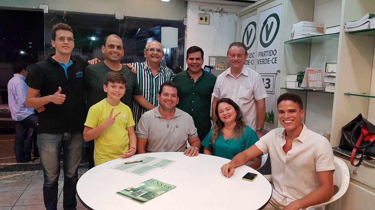 Cantor Marcos Lessa é o mais novo Filiado do Partido Verde