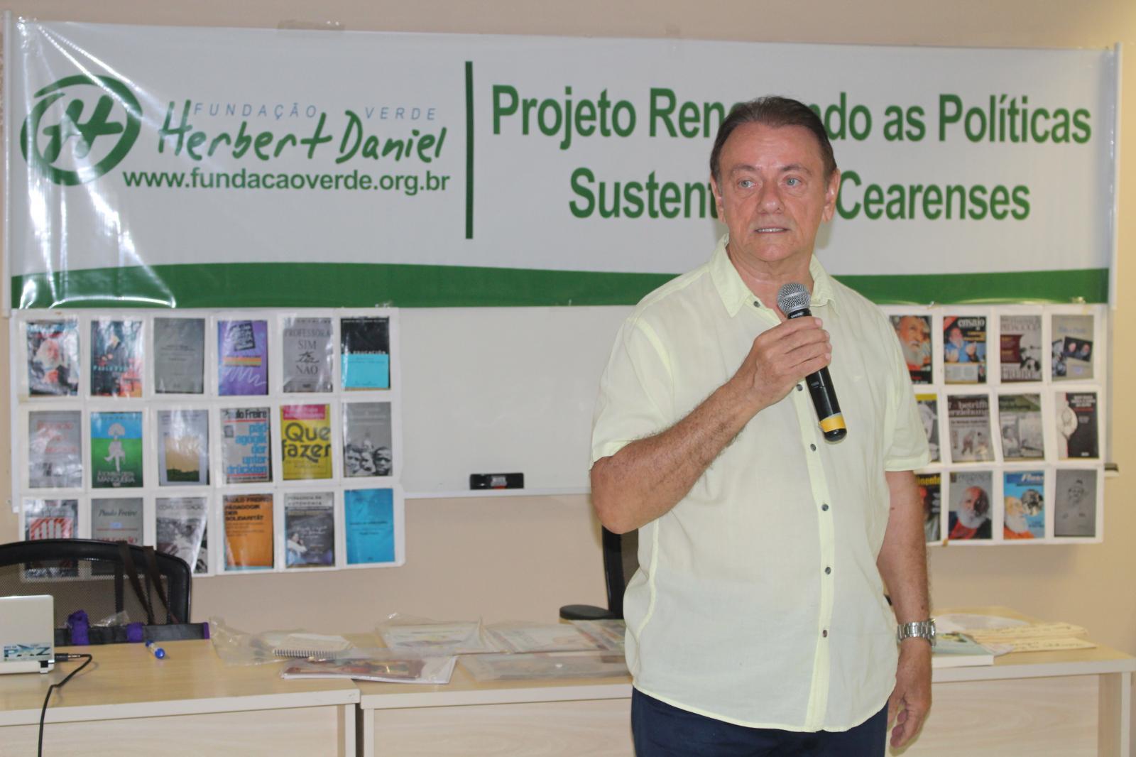 """Fundação Verde Herbert Daniel (FVHD) realiza Seminário """"A arte da comunicação e do diálogo"""""""