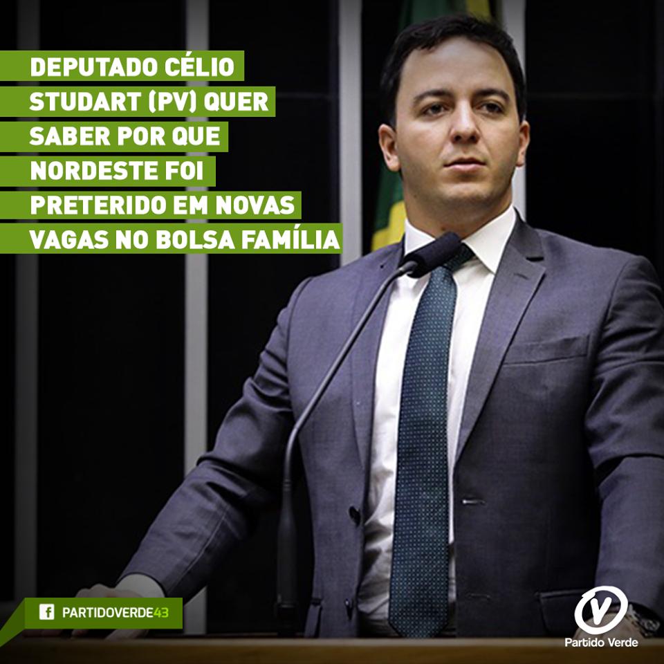 Deputado quer saber por que Nordeste foi preterido em novas vagas no Bolsa Família