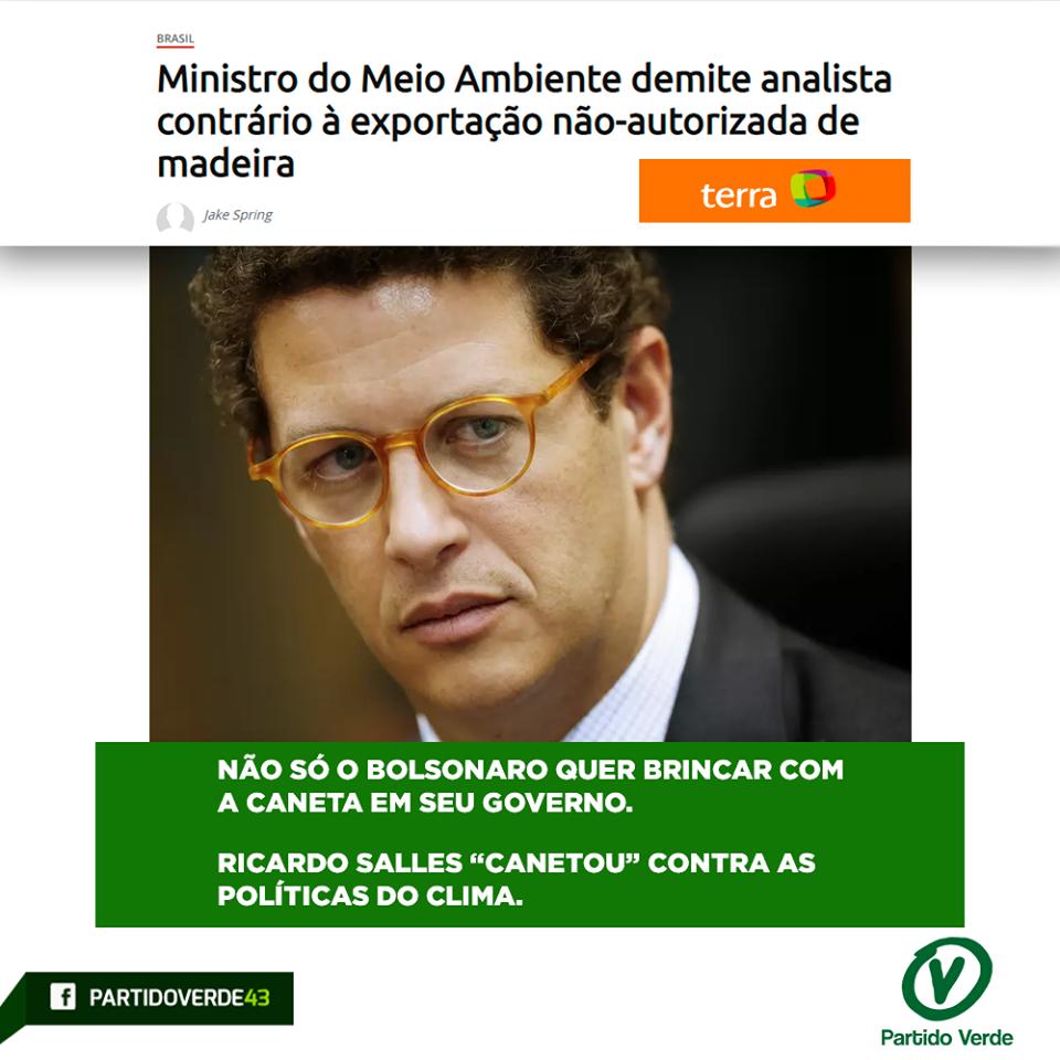 Ministro do Meio Ambiente demite analista contrário à exportação não-autorizada de madeira